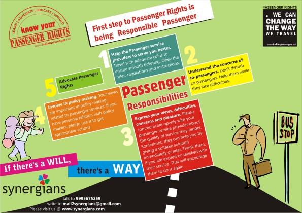 Passenger Responsibilities